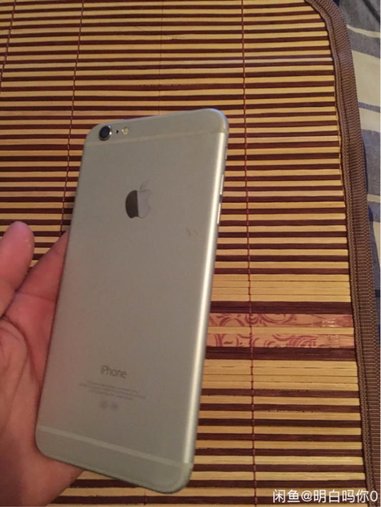 苹果 iPhone6 Plus 银色 16G 国行 有配件 iphone 6 plus